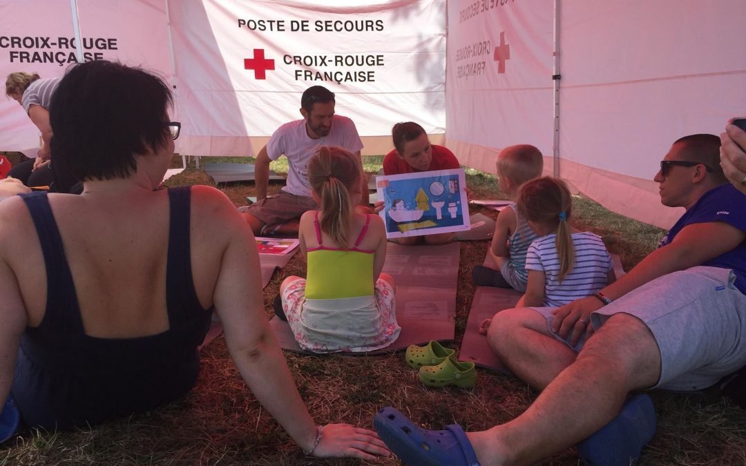 Plage des gestes qui sauvent – 27 juillet 2019 au Lac Achard